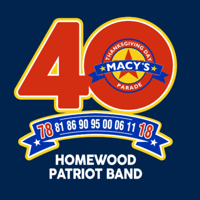"Homewood Band ""40th Anniversary Macy's Day Parade"" profile image"