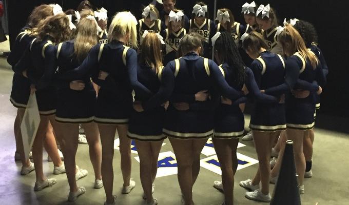 Lamar High School Cheer Spring Campaign Snap Raise